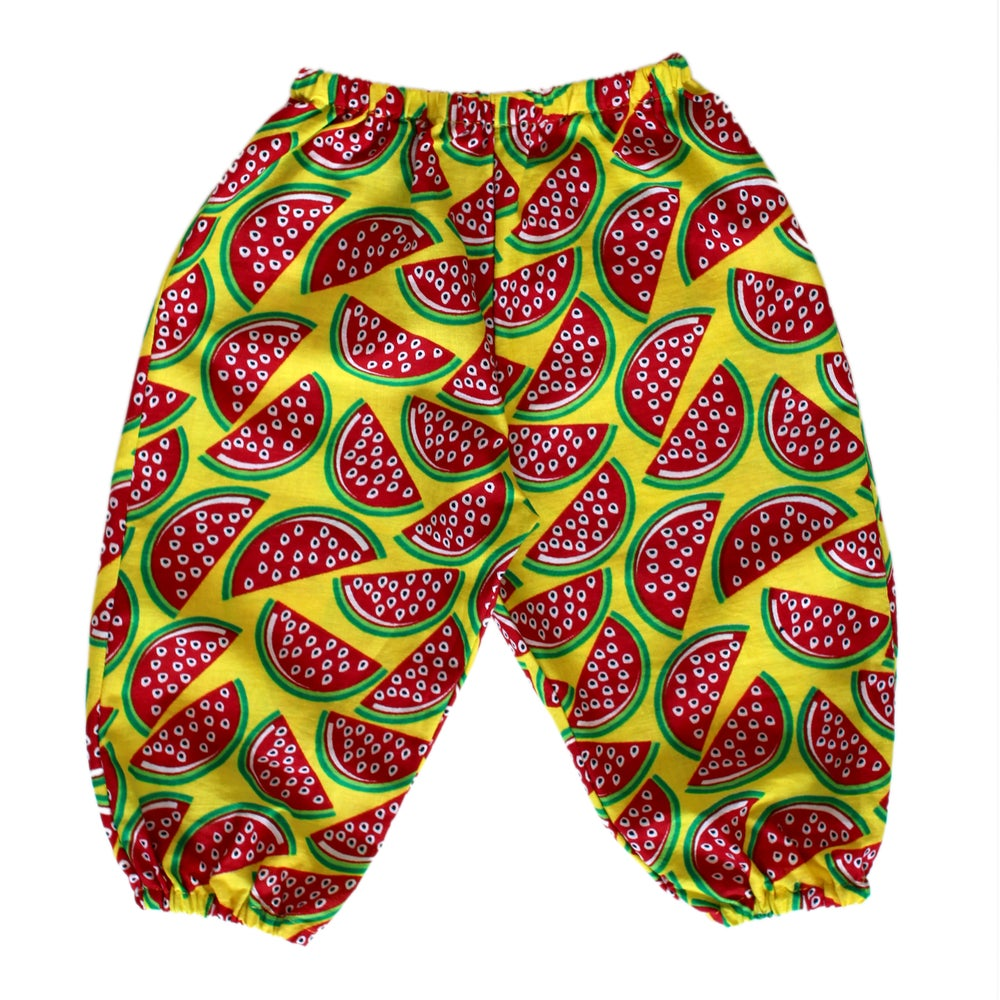 Image of Watermelon baby pants