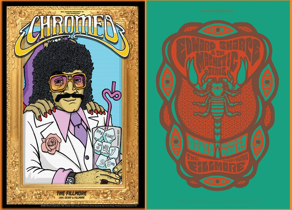 Image of Fillmore Posters - Group 1