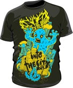Image of Blue 'Into The City' Monster T-Shirt
