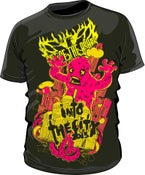 Image of Pink 'Into The City' Monster T-Shirt.