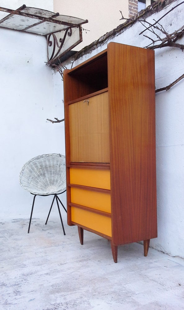 Image of Secrétaire style scandinave-1960