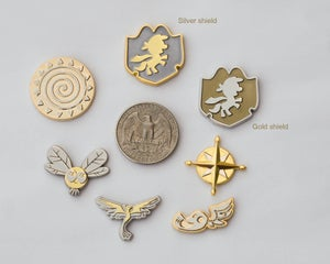Image of Wave 4 pin set