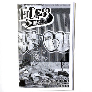 Image of Endless Canvas - Issue #3 - Black and White