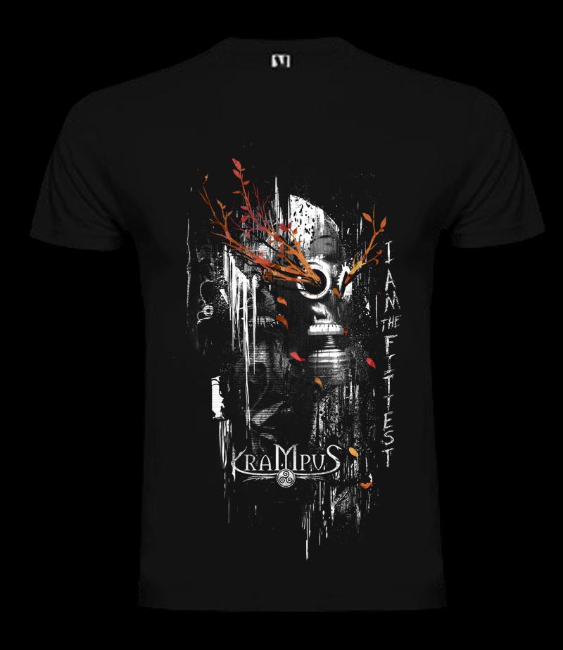 Image of Krampus - Gas mask - Male shirt