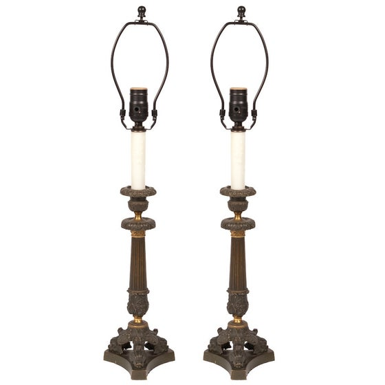 Image of Pair of Lamps