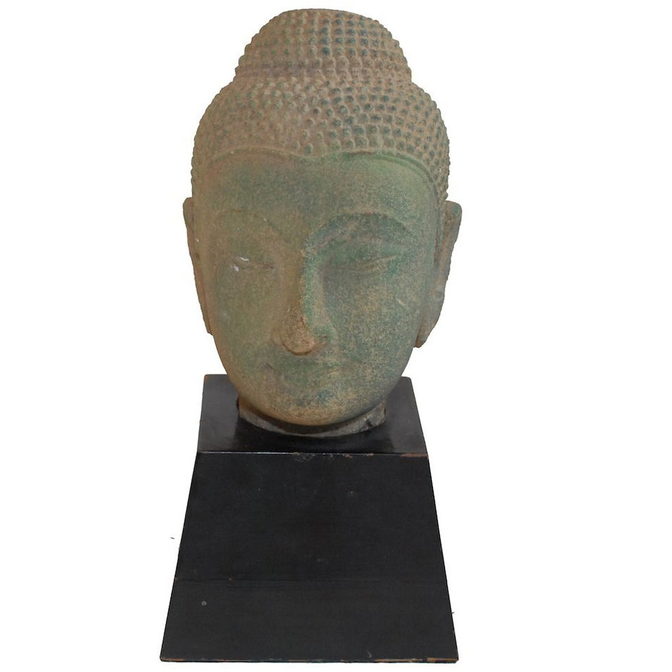 Image of Stone Buddah Head