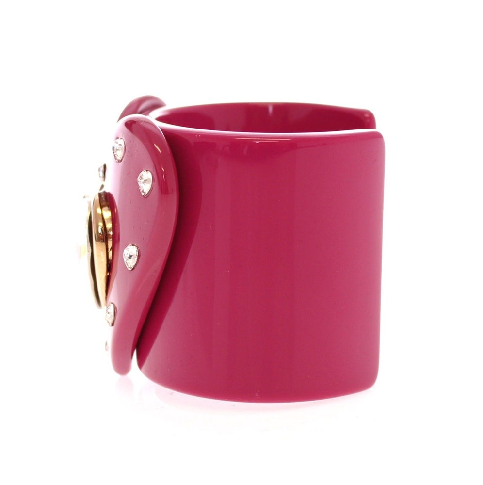 Image of SOLD OUT AUTHENTIC Dolce and Gabbana Wide Heart Runway Cuff ON SUPER SALE