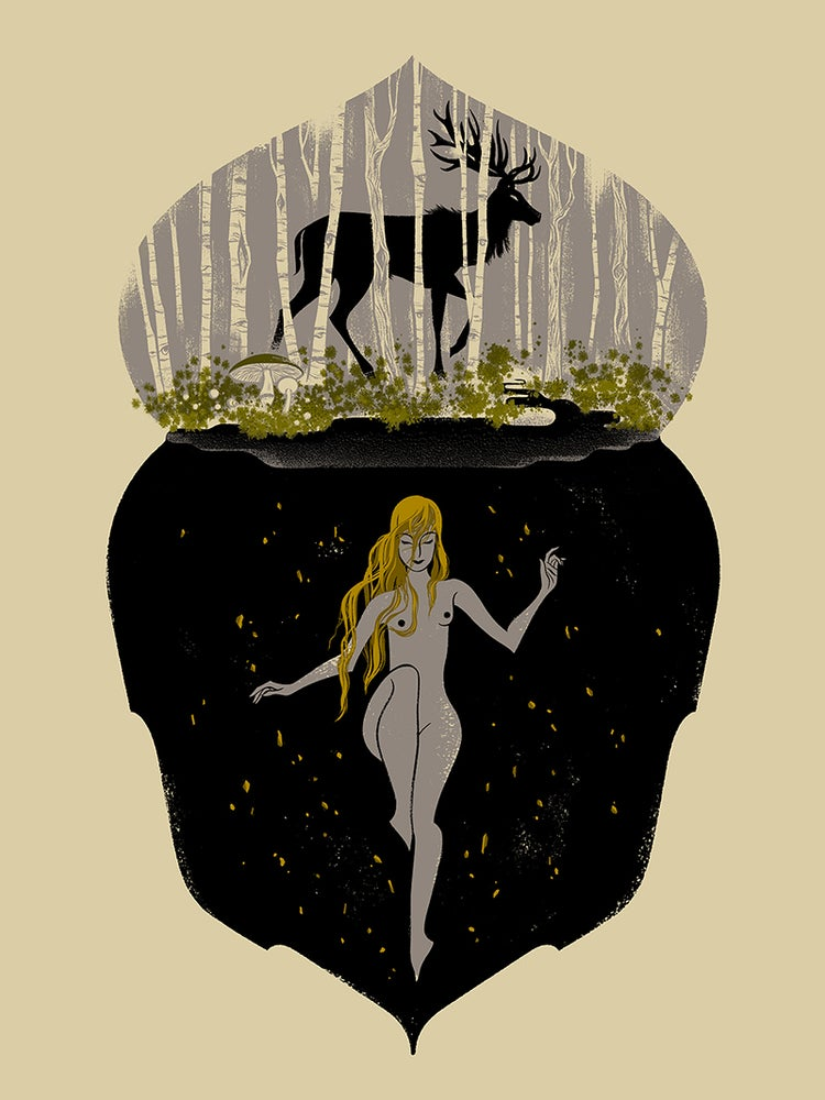Image of Anne Benjamin's 'Tuvstarr and Longleg Leap'