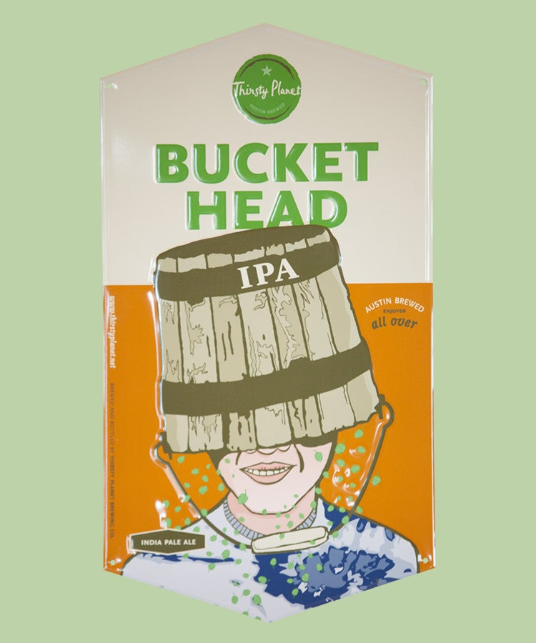 Image of Buckethead Tin Sign
