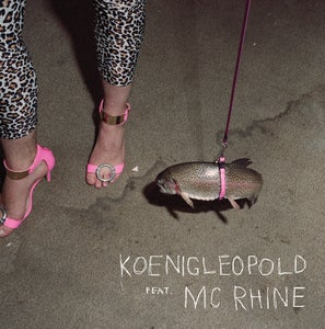 "Image of KOENIGLEOPOLD feat. MC RHINE 12"" + DC"