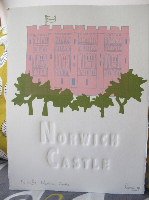 Image of N is for Norwich Castle