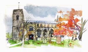 Image of Norfolk church