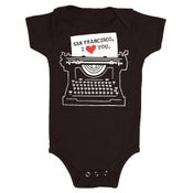 Image of BABY - SF Typewriter
