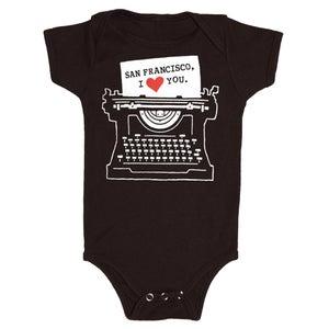 Image of BABY - SF Typewriter
