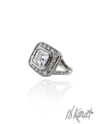Franca's Engagement Ring - 18Karat Studio+Gallery
