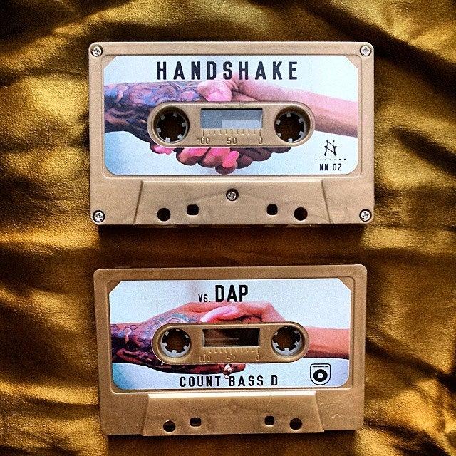 Image of NN-02 | Count Bass D Handshake Vs. Dap Cassette [Gold Tape]