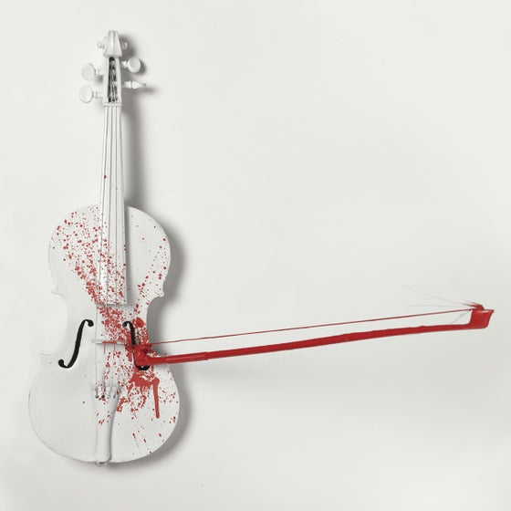 Image of Violent Violins Archival Lithograph