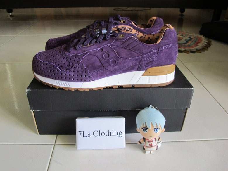 "Image of Play Cloths x Saucony Shadow 5000 ""STRANGE FRUIT"" - Crown Jewel(Purple)"