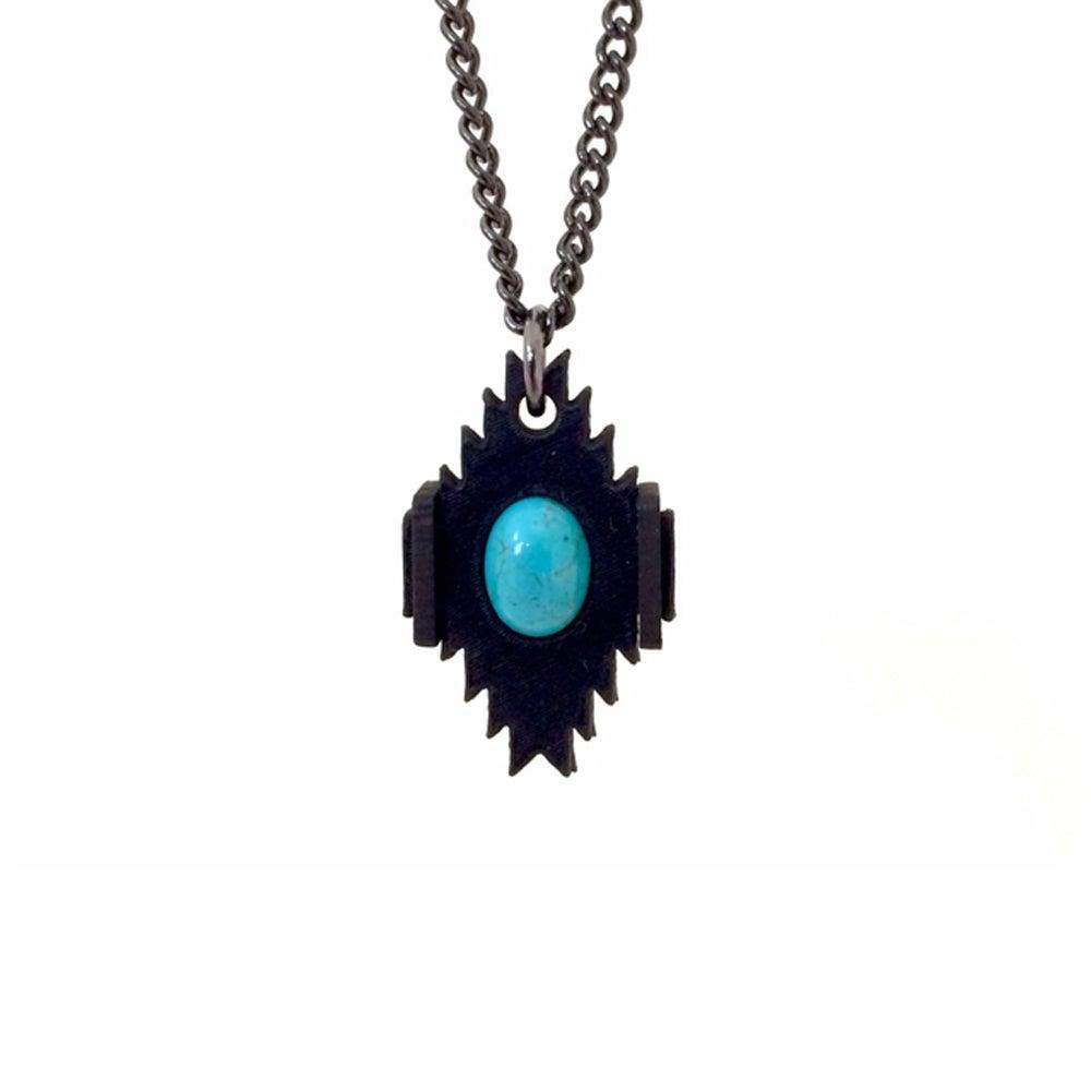 Image of Mini Turquoise Pendant