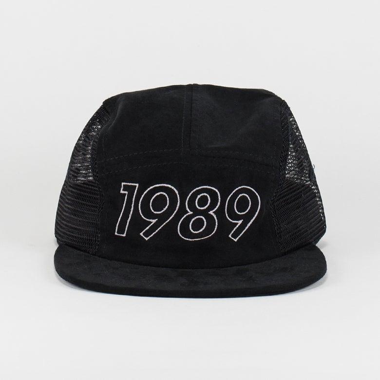 Image of Classic Logo 5 Panel Hat black/mesh