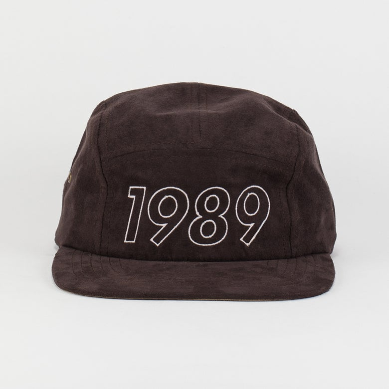 Image of Classic Logo 5 Panel Hat brown