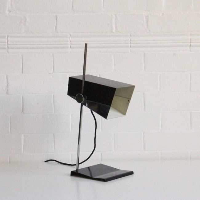 Image of Box shade desk lamp