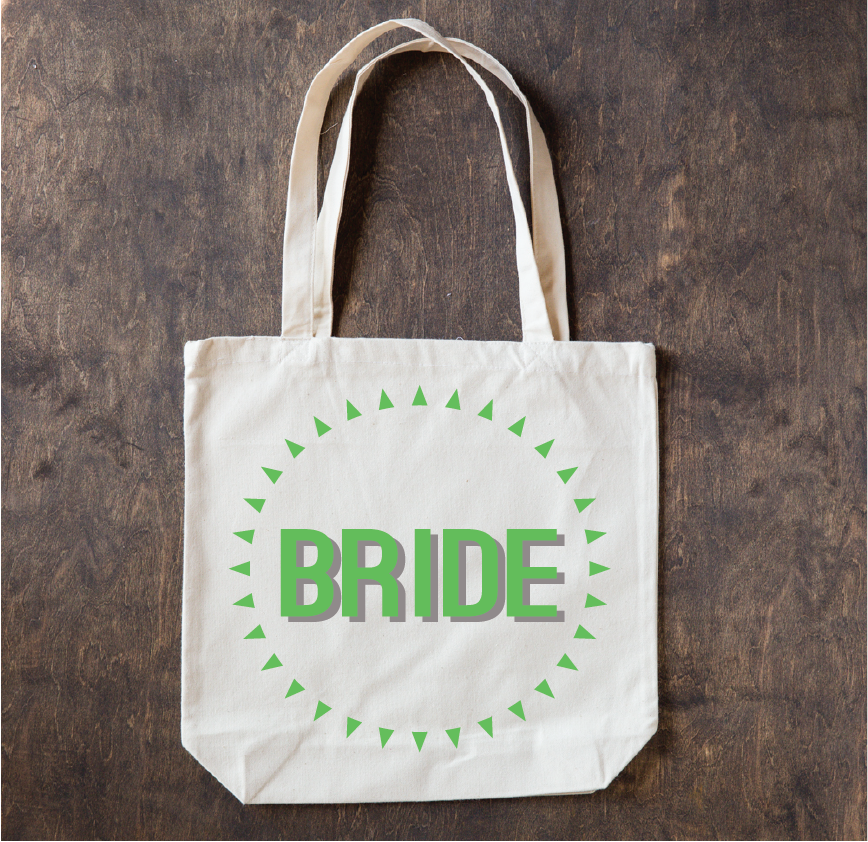 Image of Wedding Party Totes
