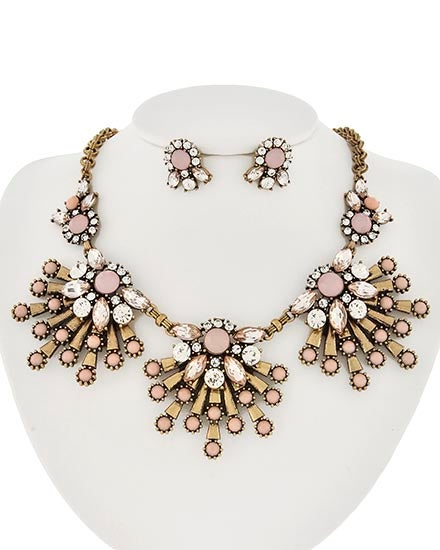 Image of Audley Flower Bomb Necklace