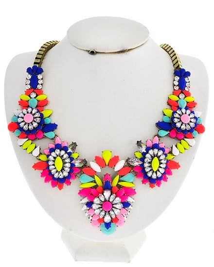 Image of Poppy Neon Necklace