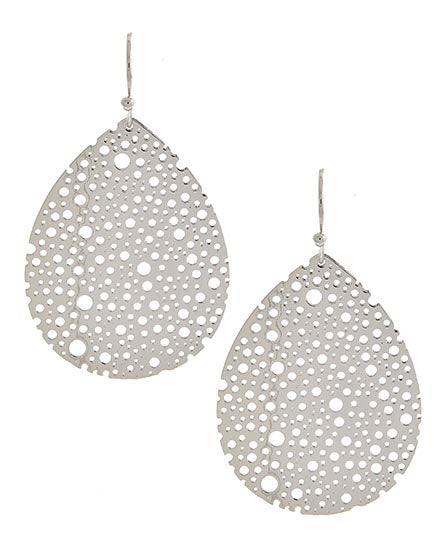 Image of Zadie Perforated Earrings