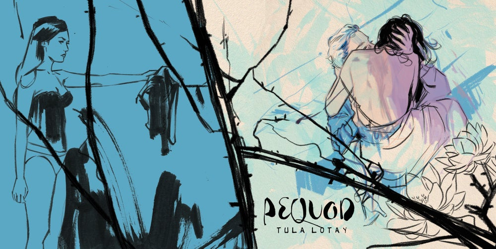 Image of PEQUOD. LIMITED EDITION ART BOOK by TULA LOTAY with Sketch