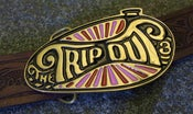 Image of EXCLUSIVE LIMITED EDITION - Trip Out Buckle - Hand Made - Brass