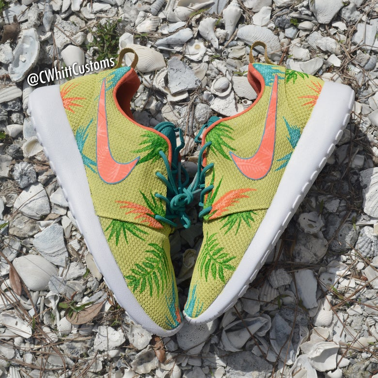 Image of Floral Roshes Limited to 10 Pairs