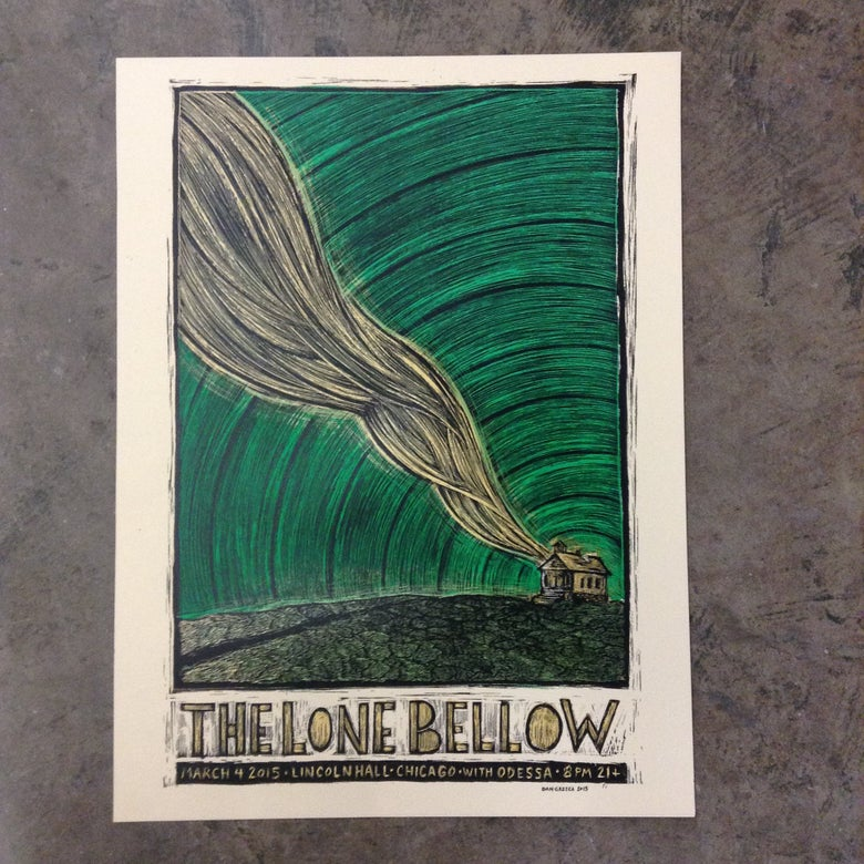 Image of The Lone Bellow Lincoln Hall Chicago