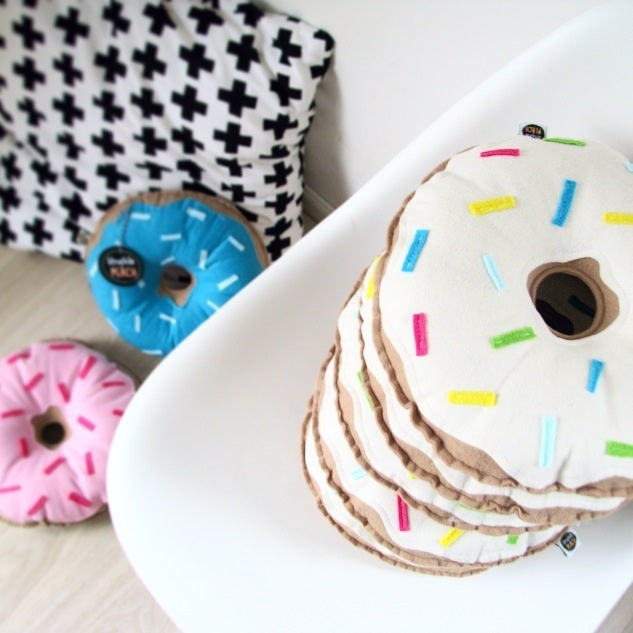 Image of ORIGINAL DONUTS - CREAM FROSTING WITH MULTI SPRINKLES