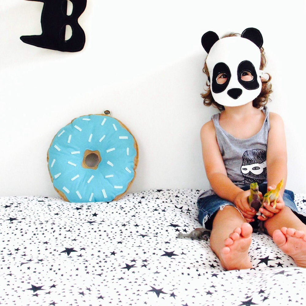 Image of Felt Panda Mask