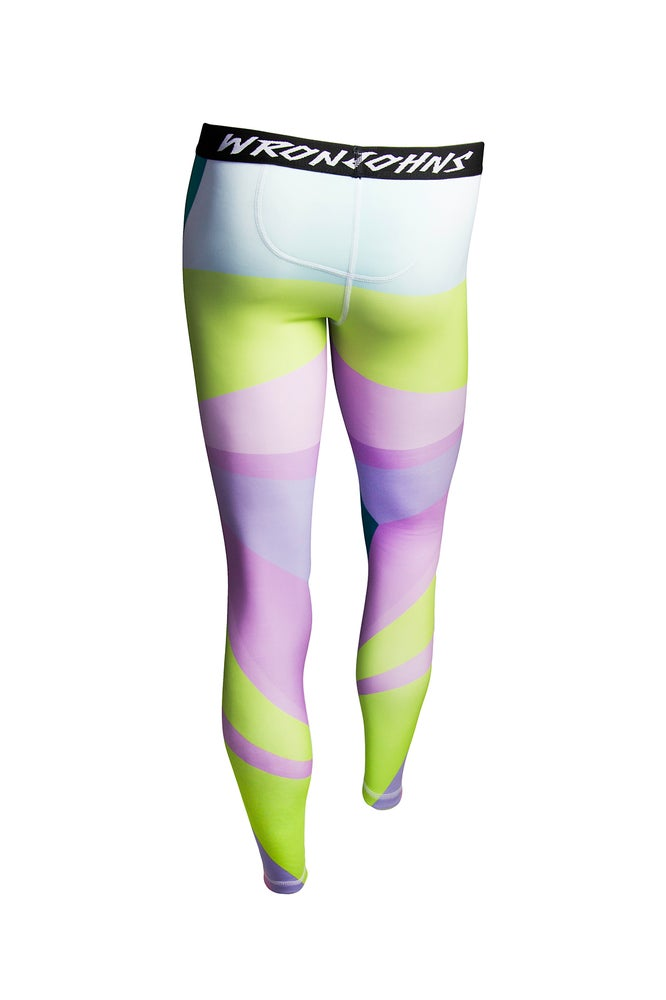 Image of Womens Smashed Glass Thermal Bottoms