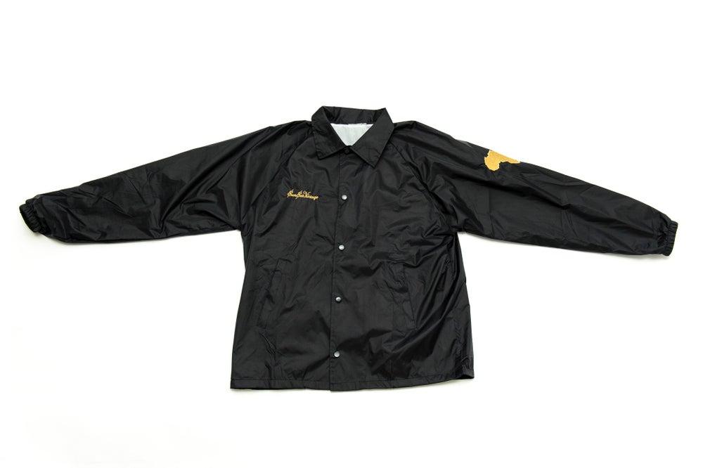 Image of X Retro Fraternity Jacket - Black