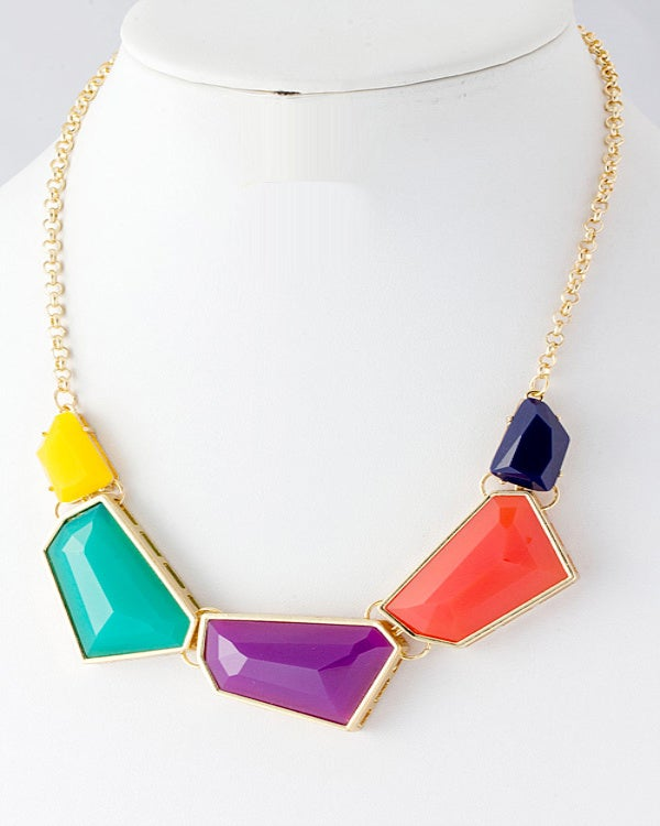 Image of Colorful Spring Necklace