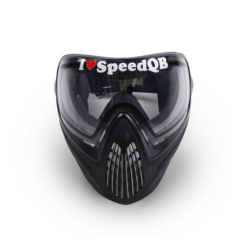 Image of I Love SpeedQB Decal - Original Red (2)