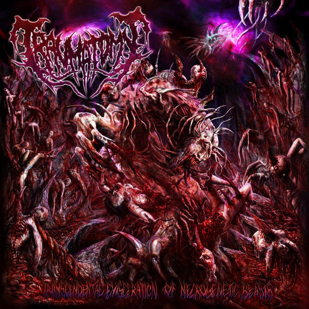Image of Traumatomy - transcendental evisceration of necrogenetic beasts