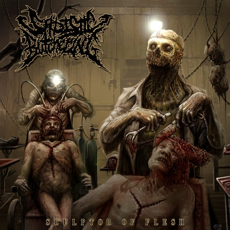 Image of Sadisctic Butchering - Sculptor of flesh