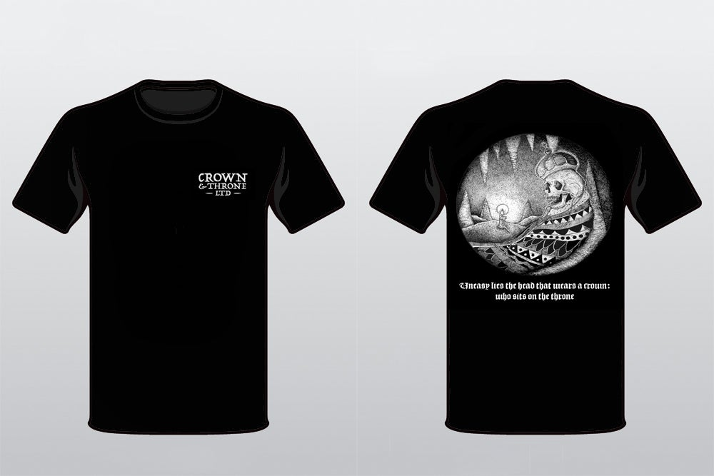 """Image of Crown and Throne Ltd. """"Dead King"""" Shirt"""