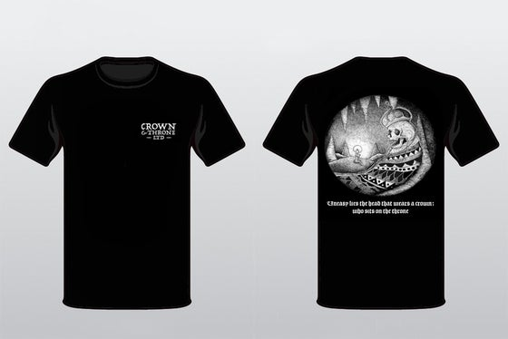 "Image of Crown and Throne Ltd. ""Dead King"" Shirt"