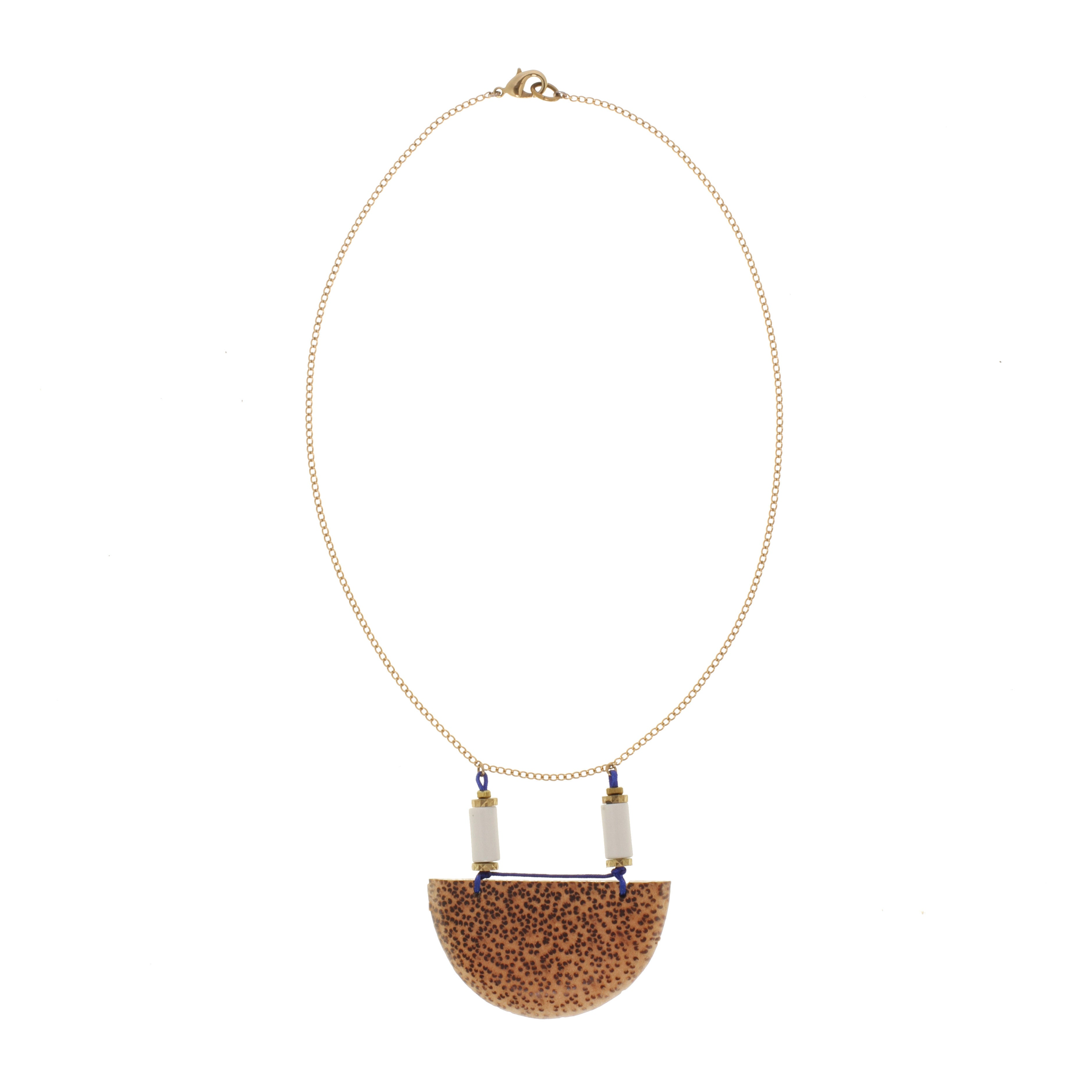 We See Stars Jewelry Half Moon Necklace