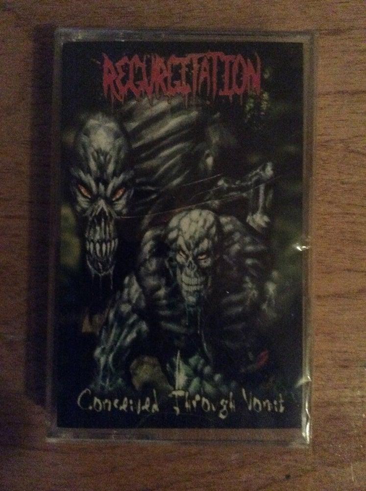 Image of Regurgitation - Conceived through vomit