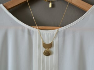 Image of Small Bohemian Drops Necklace