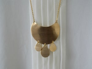 Image of Large Bohemian Drops Necklace