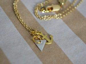Image of Small Anchor Necklace