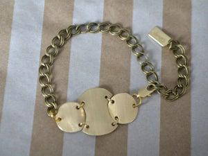Image of Segmented Discs Bracelet